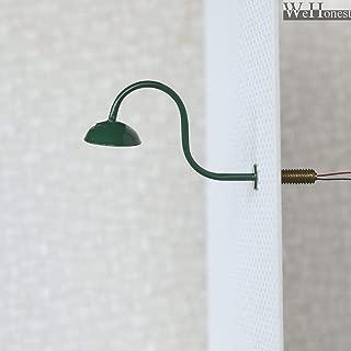 FidgetKute 5 x O Scale Led Street Wall Light Model Train Spotlight Path Lamp Post #R46OBG Show One Size