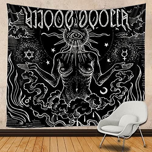 KHKJ SUN girl tapestry Mandala macrame hippie Tapestry Wall Hanging Boho decor Witchcraft Tapestry A2 95x73cm