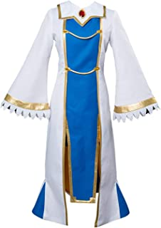 Women Slayer Cosplay Costume Halloween Priestess Outfit Goblin Dress