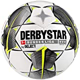 Derbystar Bundesliga Brillant TT Ballon de football pour adulte Blanc/noir/jaune 5