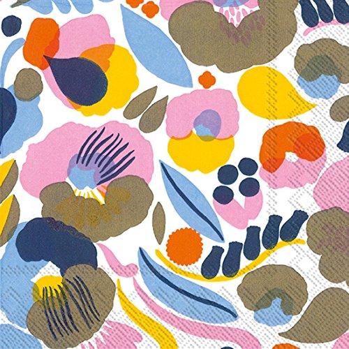 Ideal Home Range C594190 Marimekko - Tovaglioli di carta, 20 pezzi, colore: Bianco
