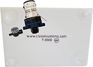 Class A Customs 30 Gallon Water Tank & WFCO 12 Volt Water Pump T-3000-12WFCO