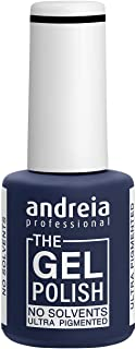 Andreia Professional - The Gel Polish - Esmalte de Uñas en Gel sin Disolventes ni Olores - Color G42 Negro
