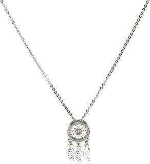 feathers uae necklace