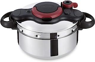 Tefal P4620766 Clipso Minut Easy Pressure Cooker, Multi-Colour, W 36.8 x H 28.4 x D 24.2 cm, 6 Liter