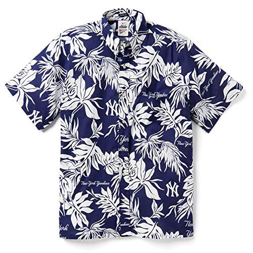 Reyn Spooner Men's New York Yankees MLB Classic Fit Hawaiian Shirt, Aloha 2019, XX-Large