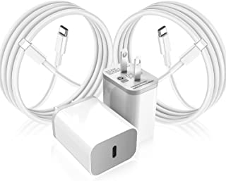 iPhone Fast Charger 2Pack,MFi Certified USB-C Wall...