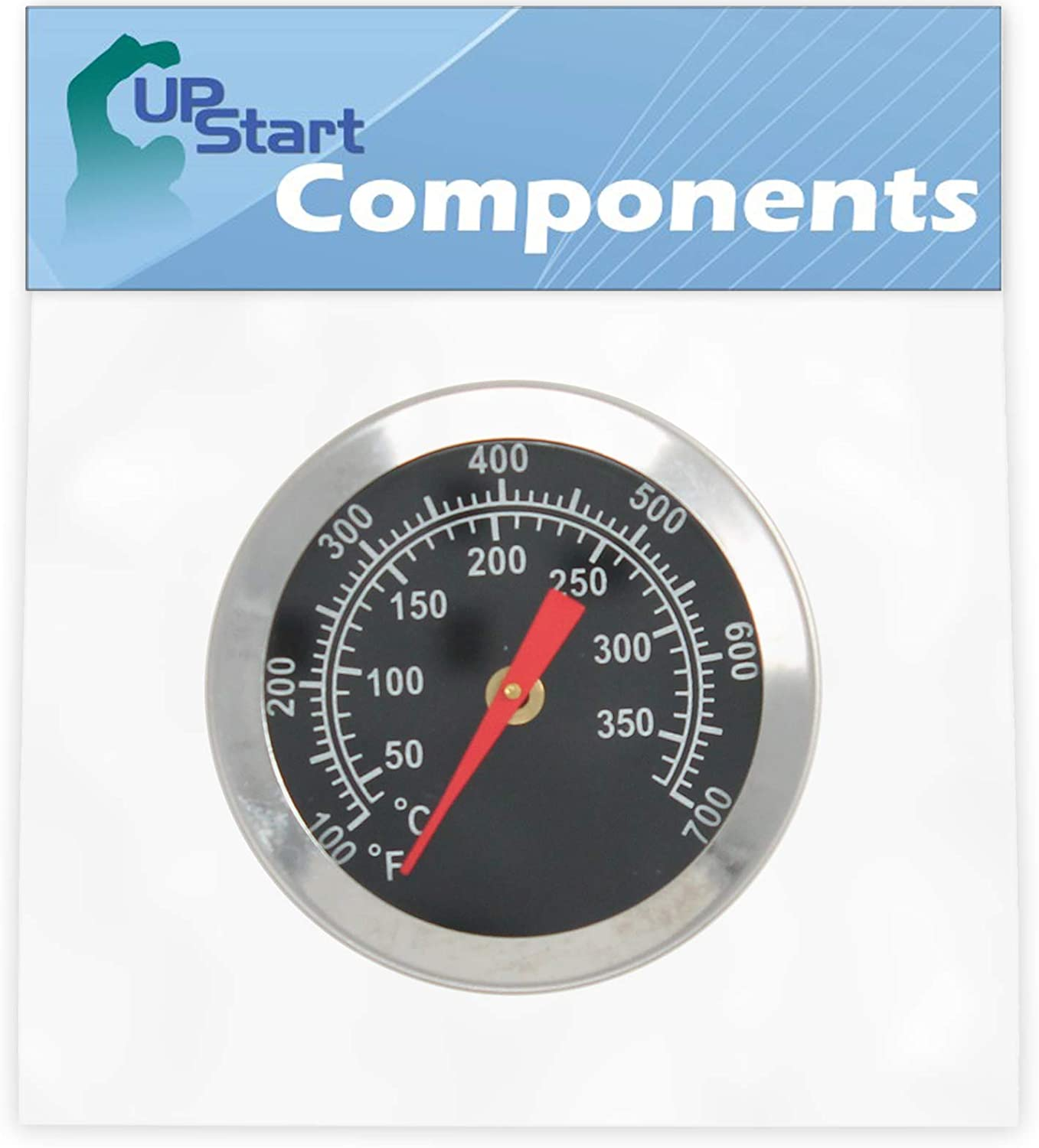 UpStart Components BBQ Grill Courier shipping free Indicator Heat Bombing free shipping Replacem Thermometer