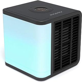 Evapolar evaLIGHT Plus Luftkühler & Luftbefeuchter - Tragbarer Kühl-Ventilator mit Vollspektrum-LED-Hintergrundbeleuchtung...