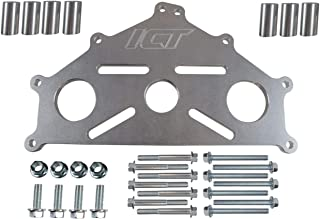 ICT Billet Engine Safe Stand Adapter Plate Chevy LS1 Duramax BBC SBC LS Heavy Duty Support 551897