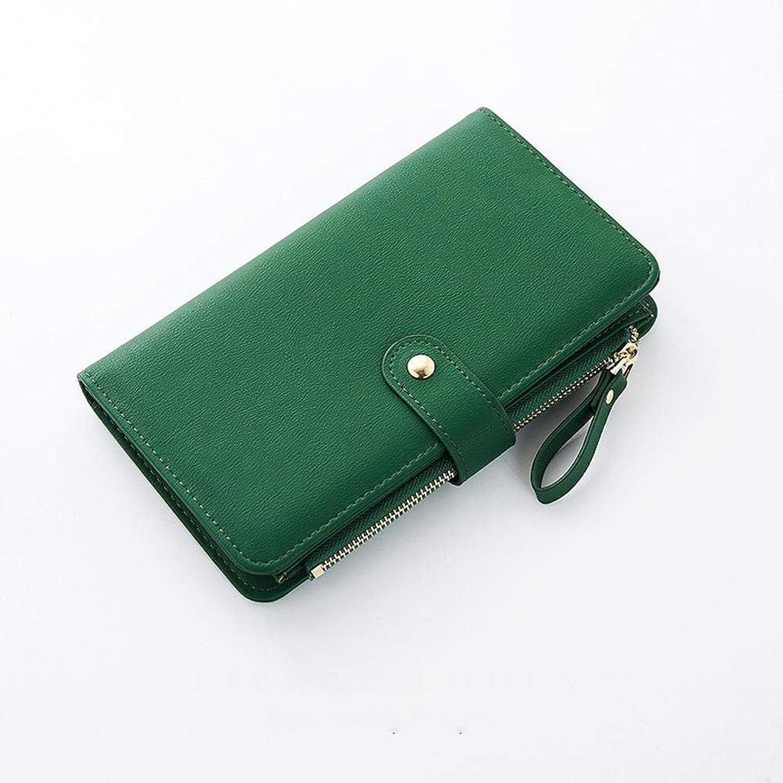 Girls Purse Women's Wallet,Ladies Wallet Zipper Big Capacity Hand Bag (color   E)