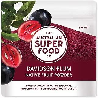 The Australian Superfood Company, Davidson Plum Freeze Dried Powder 30g by The Australian Superfood Co,red