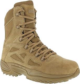 7cb119e1f1335a Reebok Work Womens Rapid Response RB Women s Stealth 8 inch Work Duty Boots