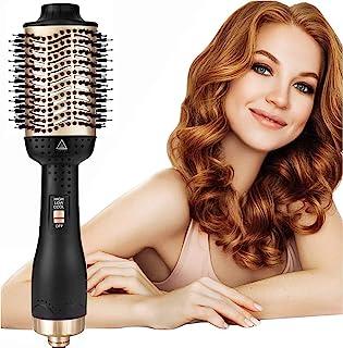 AU Plug 5 in 1 One Step Hair Dryer & Volumizer,Negative Ion Hot Air Brush, Styling Hair Dryer Brush,Ceramic Electric Blow ...