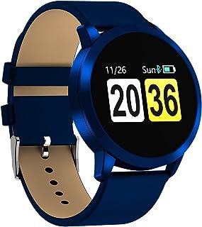 ZHANG Smartwatch, Impermeable Reloj Inteligente, Pulsera Actividad Inteligente Reloj Deportivo Reloj Fitness con Monitor de sueño Pulsómetro Cronómetros