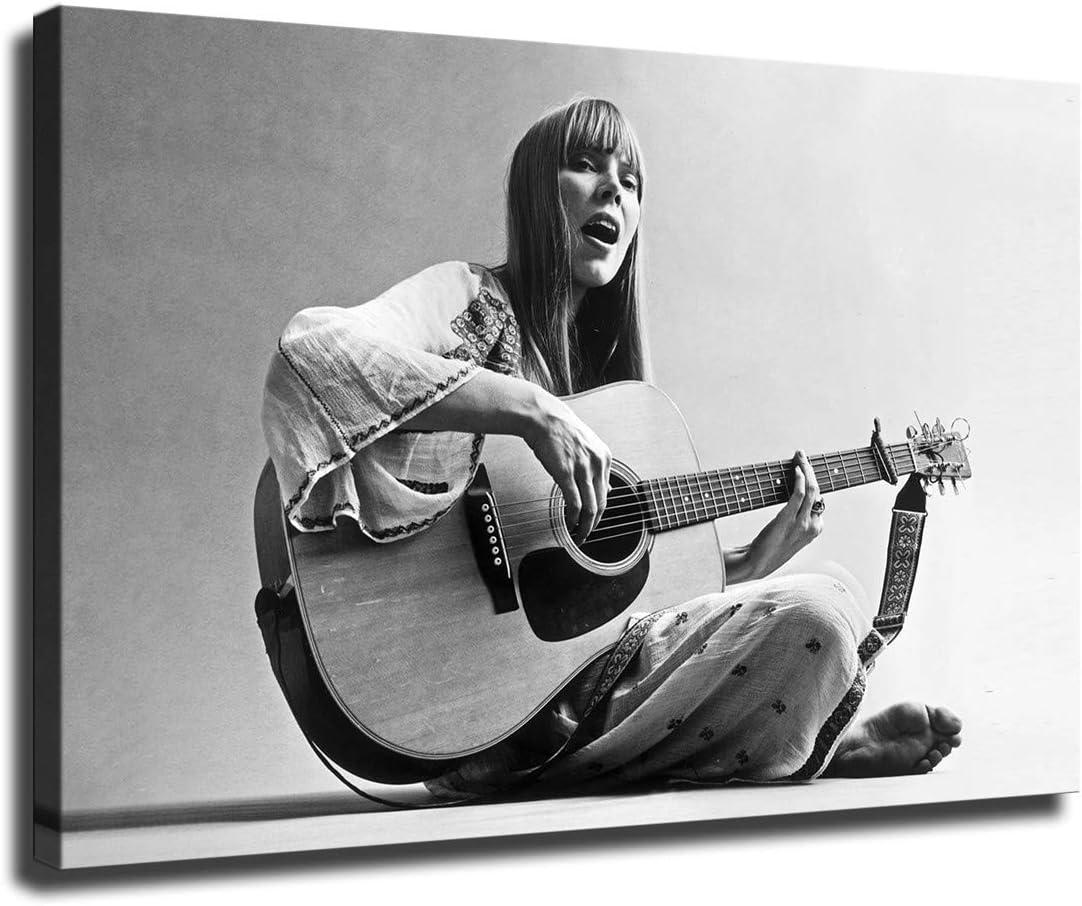 FINDEMO Joni Mitchell Printed Painting for Room 激安格安割引情報満載 Wall Living キャンペーンもお見逃しなく Art