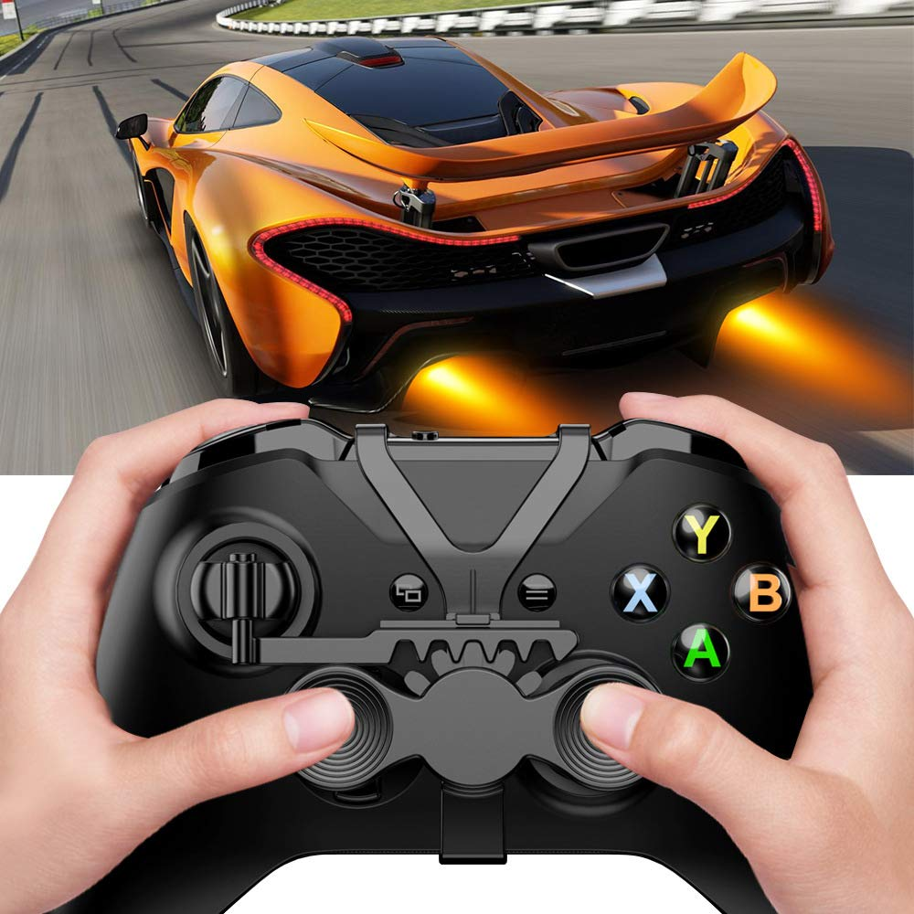 Bupin Mini Racing Games Gamepad Volante Auxiliar Controlador para Xbox One; Juegos de Carreras Gamepad Volante Auxiliar Controlador para Xbox One: Amazon.es: Informática