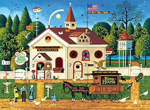 Buffalo Games - Charles Wysocki - The Bird House - 1000 Piece Jigsaw Puzzle