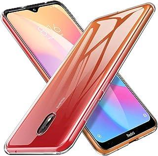 ineix xiaomi redmi 8A case back cover, lightweight transparent flexible tpu scratch resistant phone cover for redmi 8a sil...