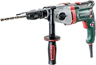 Metabo Hammer Drill, SBEV 1300-2, Futuro Plus Quick Chuck, Handle, Limit Stop, Case, VTC Full Wave Electronics, Right-Hand...