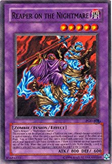 Yu-Gi-Oh! - Reaper on The Nightmare (PGD-078) - Pharaonic Guardian - 1st Edition - Super Rare