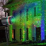 クリスマスランププロジェクター [オピニオン]屋外レーザー投影機 LED景観投光灯 クリスマス飾り (米国)