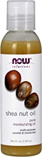 Now Solutions, Shea Nut Oil, Multi-Purpose Intense Moisturizing Oil for Skin, Scalp and Hair, 4-Ounce