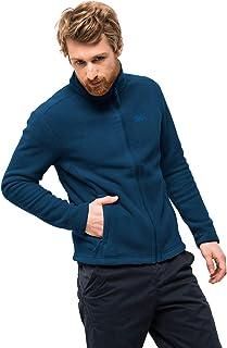 Jack Wolfskin Men's Moonrise Jacket Recycled Short-Zip-in Fleece Jacket