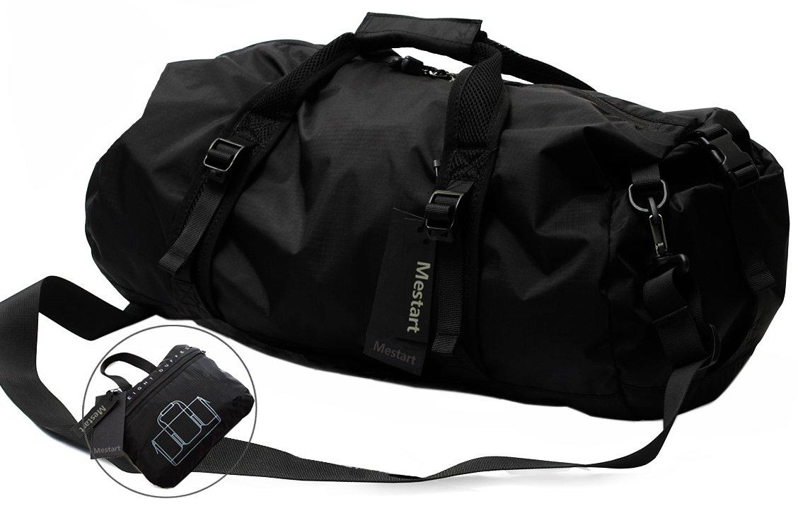 折りたたみ式荷物バッグ、Mestart防水旅行用バッグフィットネスショルダーバッグ