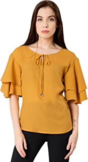 f204a009f0b Yellows Women's Tops: Buy Yellows Women's Tops online at best prices ...
