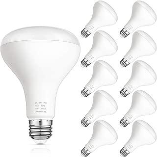 Flood Light Bulbs Indoor, Upgraded BR30 LED Bulbs Dimmable, 11W 75 Watt Equivalent, 5000K Daylight White, 850lm, Medium Screw E26 Base, CRI85+, Pack of 10