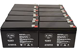 Power Kinetics Blackout Buster 2000 BB20E 12V 9Ah UPS Replacement Battery (10 Pack)