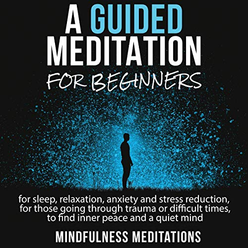 Guided Meditation for Beginners audiobook cover art