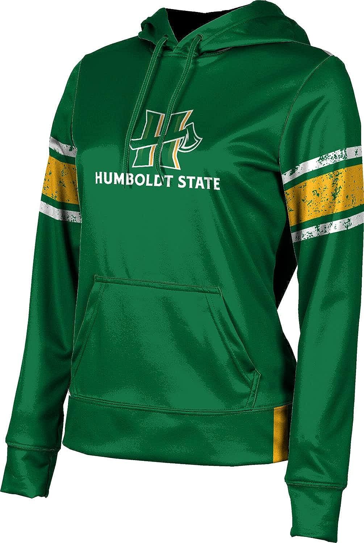 Humboldt State University Girls' Pullover Hoodie, School Spirit Sweatshirt (End Zone)