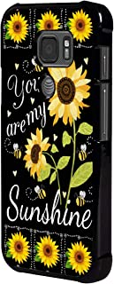 Galaxy S7 Active Case,BOSLIVE You are My Sunshine Sunflower Background Design TPU Slim Anti-Scratch Protective Cover Case for Samsung Galaxy S7 Active