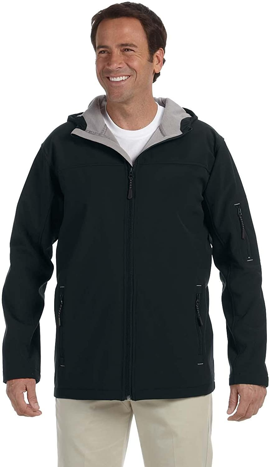 Devon Department New products, world's highest quality popular! store Jones Mens Hooded Jacket D998 Soft Shell
