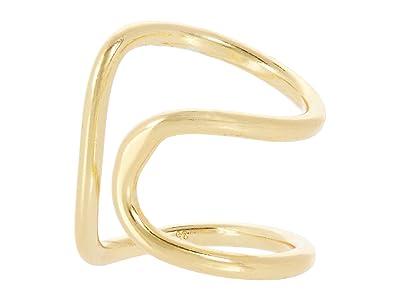 SHASHI Bijou Earrings Cuff (Gold) Earring