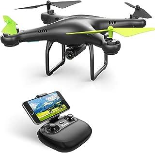 Potensic U42 WiFi FPV Drone con Cámara 720P HD, 360 ° Flip, RTF RC Drone con Altitud Hold, Sensor de gravedad, Modo sin Cabaza, etc, compatible con VR Glass, para Principiantes y Niños