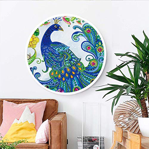 ACHICOO Home Dekorative Mandala Blume Tier Wandbild Quaste DIY Diamant Malerei Anhänger Handmade Craft YKH64