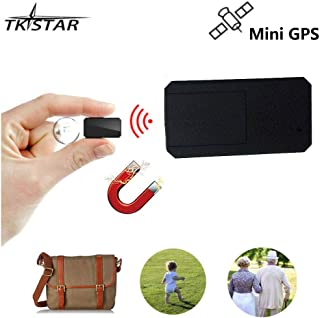 Mini rastreador GPS con imán Fuerte, Dispositivo de Seguimiento en Tiempo Real antirrobo portátil Localizador GPS antipérdida para niños/Personas Mayores/Viajes de Persona TK901