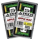 A-Tech 4GB Kit (2x2GB) RAM Memory for MacBook, MacBook Pro - PC2-5300 667MHz Ram A1261 A1260 A1181 A1229 A1226 MA896LL MA895LL MB063LL/A MB062LL/A