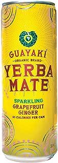 Guayaki Yerba Mate Sparkling Grapefruit Ginger, 12 Ounce (Pack of 12)