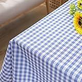 SANDM Mantel pvc, Mantel rectangular Alfombra mesa de plástico café Impermeable Mantel wipetable Mantel de navidad vacaciones Comedor-S 120x120cm(47x47inch)