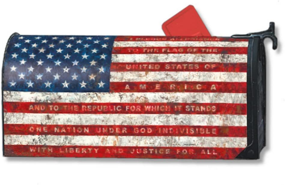 MailWraps Pledge of Allegiance Cover #06448 Mailbox Baltimore Ranking TOP16 Mall