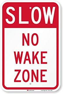Best slow no wake signs Reviews