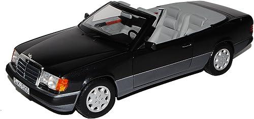 Norev Mercedes-Benz E-Klasse 300 CE W124 A124 Cabrio SchwarzGrau 1984-1997 1 18 Modell Auto