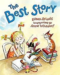 A screenshot of the cover of the book The Best Story