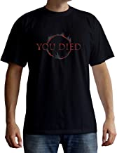 ABYstyle - Dark Souls - T-Shirt - You Died - Negro - Hombre