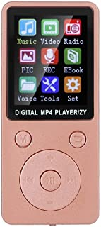 Music Player, MP4 Player, Bluetooth for Music Lovers,(Rose Gold)