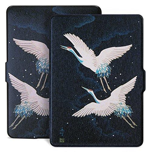 Ayotu Hülle für Kindle Paperwhite-Case Mit Auto Sleep/Wake für Amazon Kindle Paperwhite 2012/2013/2016/2015 3.Generation(Nicht geeignet für das Modell der 10. Generation 2018),Fliegende Vögel